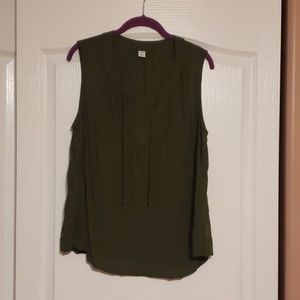 Olive green Old Navy blouse